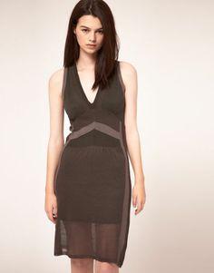 New Kookai Sleeveless Knit Dress with Pointelle Detail Size 10 to 12 Faulty Y469   eBay