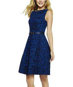 Love this Sterling Saharan Leopard Dress by C. Wonder on #zulily! #zulilyfinds