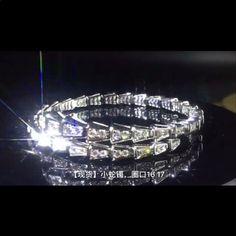 καλής ποιότητας εργοστάσιο κοσμήματα χονδρική νέα μόδα μοντέρνα μεγάλη μάρκα ζιργκόν βραχιόλι βραχιόλι διαμάντι 925 ασημένια κοσμήματα για τις γυναίκες