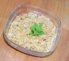 Pikáns hagymamártás Pesto, Risotto, Ethnic Recipes, Food, Meals, Yemek, Eten