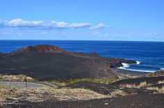 Mt.Hyoutanyama Miyakejima Island Tokyo.  This crater erupted in 1930.
