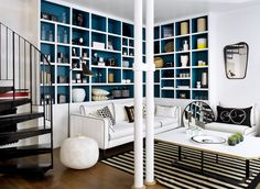 Here are some doable living room decor and interior design tips that will make your home cozy and comfortable for family and friends. Home Living Room, Living Room Decor, Living Spaces, Living Area, Dining Room, French Interior, Interior Design, Family Room Design, Small Spaces