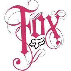 Of Fox Racing AKA MotorCrossing Race Fox Racing Co. [c] Motorcross Fox Racing Fox Racing Logo, Fox Racing Tattoos, Fox Logo, Dirt Bike Tattoo, Bike Tattoos, Sleeve Tattoos, Tatoos, Girly Wallpaper, Iphone Wallpaper
