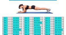 Loading... Plank es el ejercicio abdominal que más músculos trabaja en menor tiempo. El tratamiento con plank se desarrolló para demostrar que un sólo ejercicio es capaz de poner en forma el cuerpo; tú también puedes lograrlo si llevas a cabo un plan paulatino, pero intenso. En pocos minutos diarios podrás entrenar efectivamente. Si eres