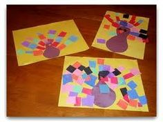 preschool thanksgiving crafts - Google Search
