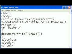 Tutorial-7-Imparare Javascript - #HTML #Imparare #ITA #Italiano #Javascript #Lezione #Lezioni #Programma #Programmare #Programmazione #Scuola #Tutorial #Web http://wp.me/p7r4xK-Q6
