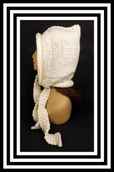 Ivory Knitted Hat Womens Hat Knit Pixie Hat Ivory Hat Ear Flap Hat Knit Winter Hat DESERT Pixie Hat Knit Hat by strawberrycouture on Etsy  Ivory Knitted Hat Womens Hat Knit Pixie Hat Ivory Hat Ear Flap Hat Knit Winter Hat DESERT Pixie Hat Knit Hat 45.00 USD by #strawberrycouture on #Etsy  MUST SEE! http://ift.tt/1UbgWQH (Unique Womens Crochet & Knit Hats Scarves Patterns) Strawberry Couture on Etsy is about having fun with a crochet hook and knitting needles for women to wear unique crochet…