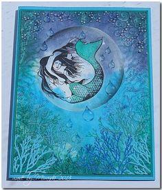 'Mir'acle Art Inspirations: Sea scenery's with Designs by Ryn.......zee taferelen met Designs by Ryn