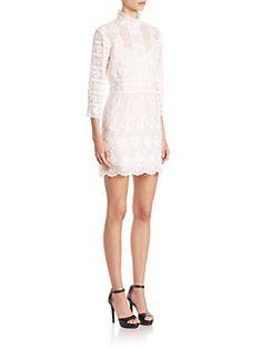 Marc Jacobs - Victorian Cotton Button-Back Dress $1800