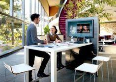 Architectura - Temptation high desk: het nieuwe vergaderen