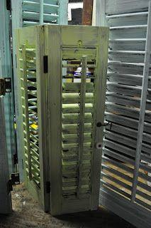 Repurposing shutters