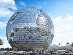 Jebel Ali, Dubai, UAE Architect: James Law Cybertecture Structural Eng: Ove Arup & Partners