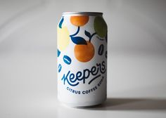 Keepers is a mix between coffee, soda, and citrus that's unexpectedly refreshing—and we can't stop drinking it.