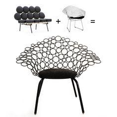 Netoia armchair by Lattoog