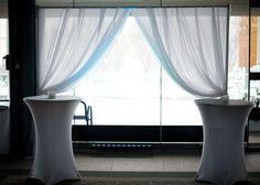 Chiffon Archway. #weddings #specialevents #eventdecor #weddingdecor