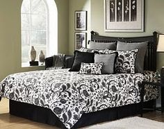 95 Best Black And White Bedding Images White Linen Bed Bedding