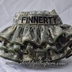 Army baby skirt--AAAAHHHH!!!! LOVE THIS SO MUCH
