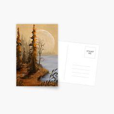 T Art, Postcard Design, Jenni, Full Moon, Top Artists, More Fun, Finding Yourself, Greeting Cards, Art Prints