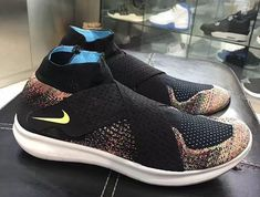 cfa858bb2634 Nike Free RN Motion Flyknit 2 Colorways Running Shoes Nike
