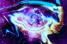 Trusting Heart and Presence   Waking Spirals Universal Eye - by G A Rosenberg