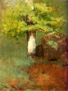 The Tree, Odilon Redon, 1875