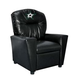 Dallas Stars Kids Leather Kids Recliner