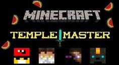 Temple Master Map - minecraft adventure maps : The Temple Master is a large adventure and puzzle map that features many traps a ...  #adventure #maps