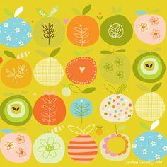 Day 225 - apple pattern