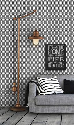 Geometric Pattern Self Adhesive Vinyl Wallpaper D198