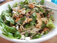 This recipe for Shredded Chicken Salad is a riff on the Chinese Chicken Salad that I posted a few weeks back. The fresh salad ingredients . Shredded Chicken Salads, Low Carb Chicken Salad, Salad Ingredients, Stuffed Whole Chicken, The Fresh, Salad Recipes, Cabbage, Bacon, Vegetables