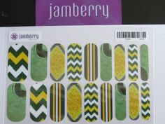 Going to the game or just a party??  Show your 2015 Superbowl support for Green Bay Packers with Jamberry Nail wraps. Email me to order lisavandiver18@gmail.com #nailart #nails #naildesign #Jamberry #Superbowl #GreenBay #Cheeseheads