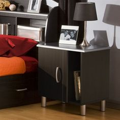 The modern Cosmos Night Stand is  contemporary & stylish.