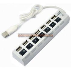 Hub USB 7 porturi, cu intrerupator - 114196