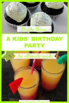 How to throw a kids´ birthday party – Our Swiss experience Travel With Kids, Switzerland, Birthday, Party, Life, Food, Parties, Hoods, Meals