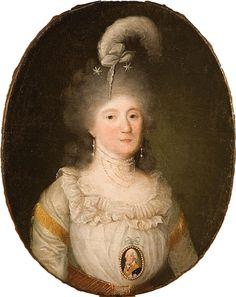 WELPER Jean Daniel (17301789), PORTRAIT DE JEUNE FEMME EN