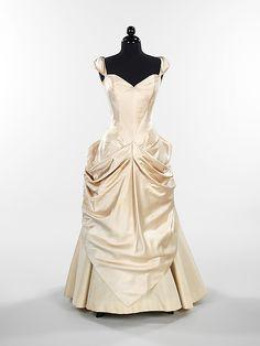 Ball Gown, Charles James (American, born Great Britain, 1906–1978): 1949, American, silk.