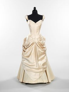 1949, America - Silk ball gown by Charles James