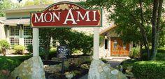 Mon Ami (my friend) garden and winery in Catawba Ohio.