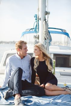 Ryan & Ari are such a sweet couple!  Ryan planned a beautiful harbor yacht cruise with the intention of having a photographer capture the moment with a fun lifestyle portrait session- or so Ari thought... :)Looking for a Destination Wedding Photographer for your wedding?…
