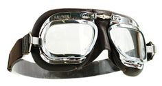 Halcyon Goggles - classic motorcycle goggles. vintage goggles, flying goggles, aviator goggles, classic driving goggles