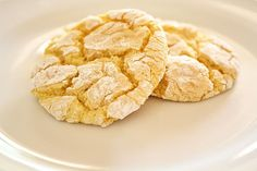 Recipe: Lemon Cake Cookies