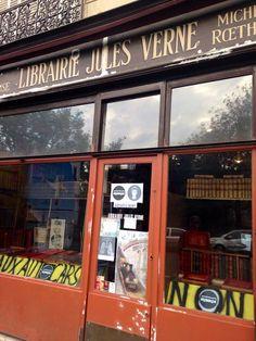 librería Jules Verne en París