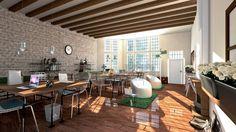 projecten d z architecten projectmanagers office lounge