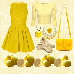 """When life gives you lemons"" by thegirlwhono-oneknows on Polyvore"