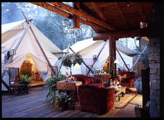 The Coolest Places to go Glamping in Canada - Not a fan of roughing it in the wilderness? From posh tents to tree houses, here's where to go glamping in Canada to enjoy the great outdoors in comfort. Into The Wild, Camping Glamping, Luxury Camping, Camping Nice, Glam Camping, Camping Gear, Outdoor Camping, Luxury Travel, Indoor Outdoor