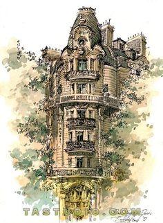 Resultado de imagen de urban sketchers paris
