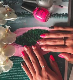@nails.aguiral 🌷 Convenience Store, Nails, Instagram, Food, Color, Convinience Store, Finger Nails, Ongles, Nail