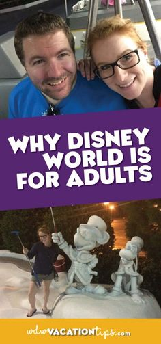 Disney World isn't just for kids, it features many relaxed, romantic, and unique experiences geared towards adults. It may surprise some of you, but Walt Disney World is actually quite popular for adults without kids. So let's cover why exactly Disney World is for adults.