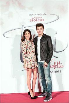 Martina Stoessel (Tini) e Jorge Blanco (Leon).