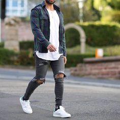 By moda masculina, estilo swag, Style Casual, Casual Looks, Men Casual, Swag Style, Estilo Vans, Modern Men Street Style, Urban Fashion, Mens Fashion, Fashion Guide
